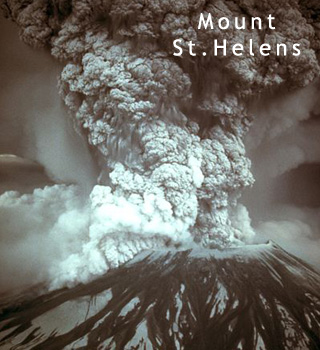 st helens eruption