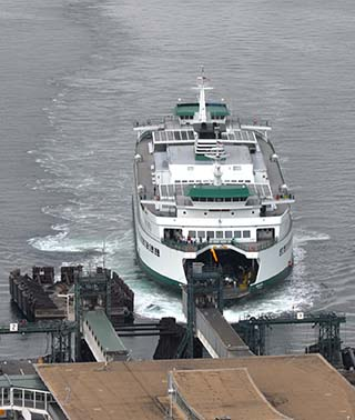 ferry in seattle