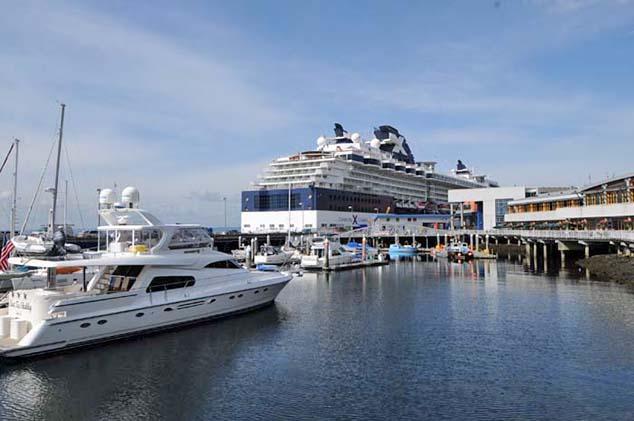 cruise ship seattle