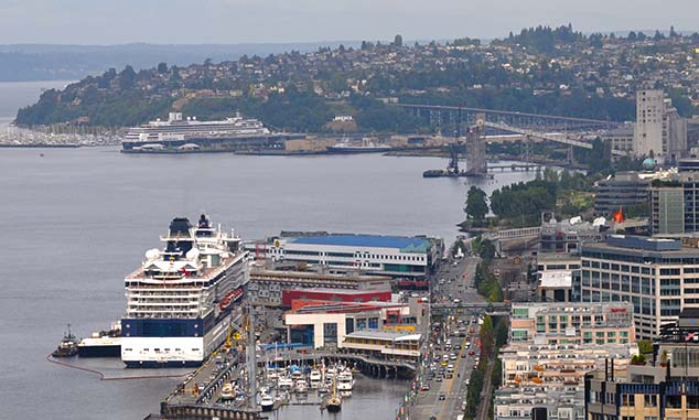 cruise ships seattle