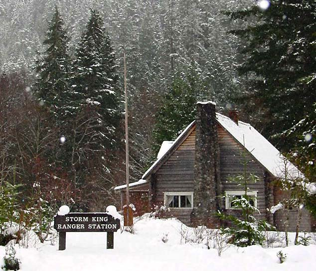 ranger station washington