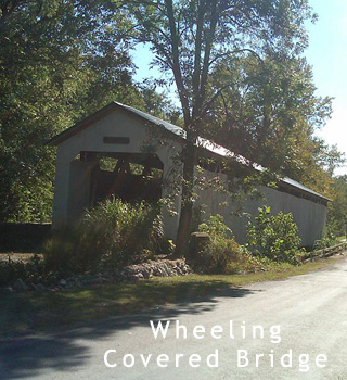 wheeling covered bridge