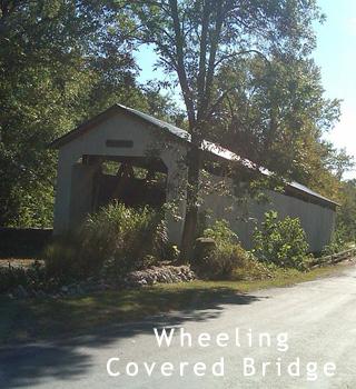 wheeling covered bridge