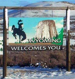 wyoming welcome
