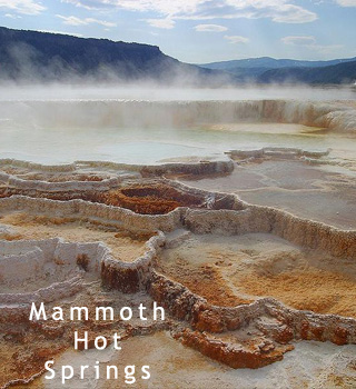 Mammoth Springs Wyoming