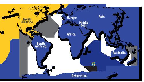 Antarcticaantarctica Maps Landforms Weather old world map