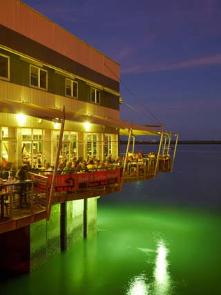 The Jetty Restaurant, Stokes Hill Wharf, Darwin Waterfront Precinct, Northern Territory, Australia