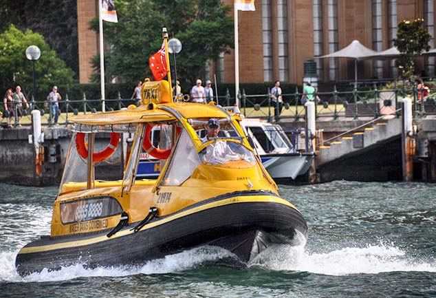 sydney water taxi