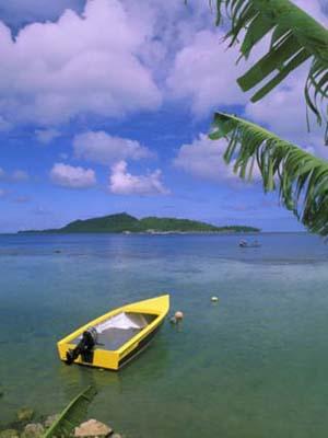 Scenic View, Vaitape, Bora Bora, French Polynesia, Oceania