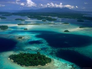 Lagoon, West New Georgia, Vonavona Island, Western Province, Solomon Islands