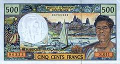 Comptoirs Francais du Pacifique franc
