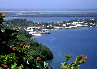 Port of Refuge harbour Tonga