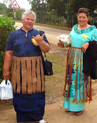 Tongan women