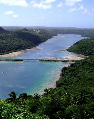 Tonga landscape