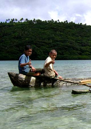 Tongan children