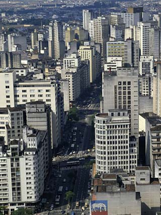 Business District, Sao Paulo, Brazil