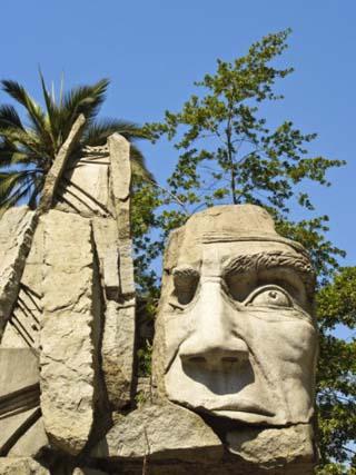 Maphuce Statue, Plaza De Armas, Santiago, Chile, South America
