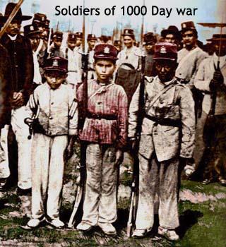 thousand days war