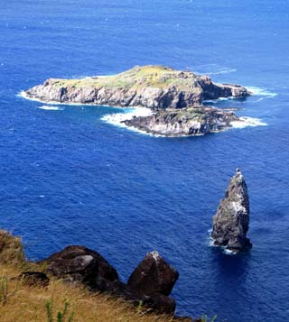 easter island islets