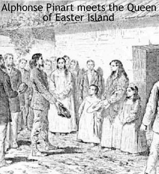 queen of easter island