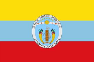 Ecuador Flag 1830