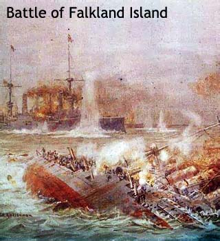 battle of falkland island