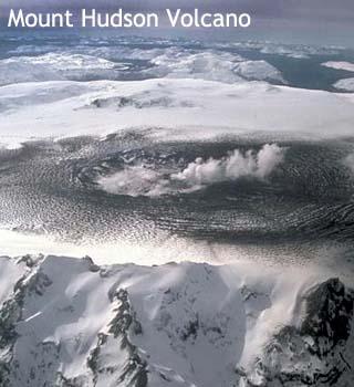 hudson volcano