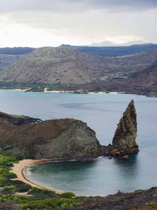Pinnacle Rock, Isla Bartholome, Galapagos Islands, UNESCO World Heritage Site, Ecuador