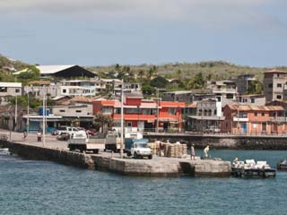 Puerto Baquerizo Moreno, Capital of the Galapagos, Isla San Cristobal, Galapagos Islands