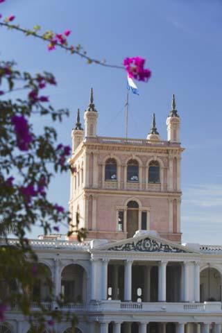 Palacio de Gobierno (Government Palace), Asuncion, Paraguay, South America