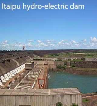 itaipu hydro electric dam