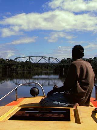 Bridge in suriname