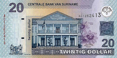 Suriname dollar