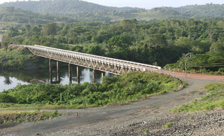 Bridge in suriname