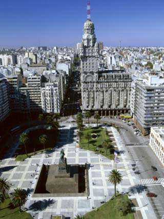 Salvo Palace Independence Plaza Montevideo Uruguay