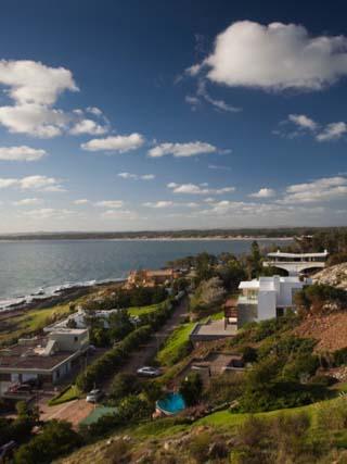 Houses at the Riverside, Punta Ballena, Punta Del Este, Maldonado, Uruguay