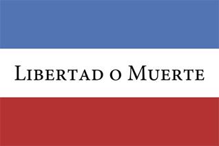 Flag of Uruguay libertad