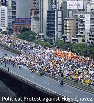venezuale political protest