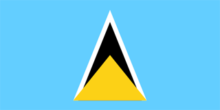 Flag of St Lucia
