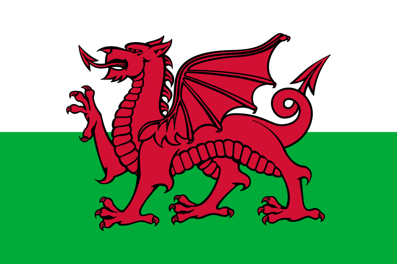 Welsh Wales Flag
