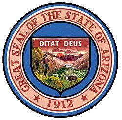 Arizona Flag And Description And Arizona Seal